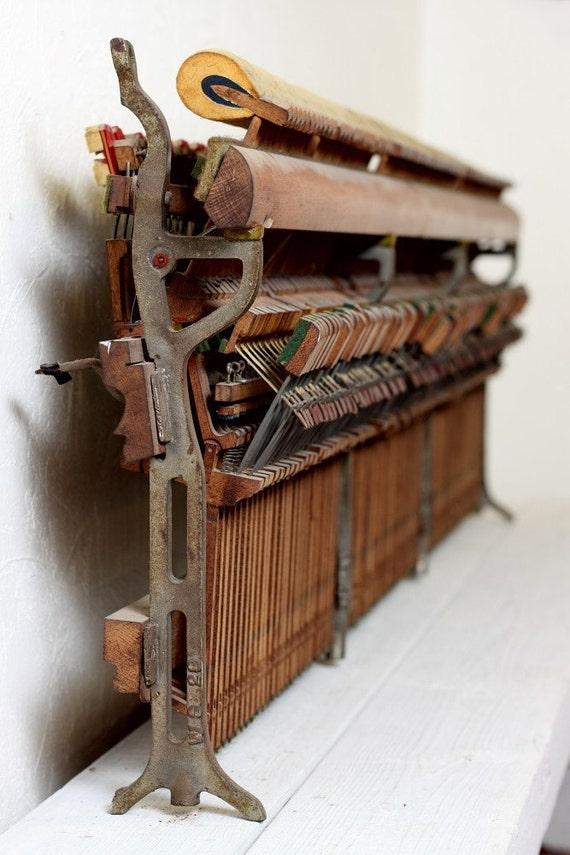 Vintage Piano Wall Art