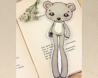 Bear - bookmark - made to order
