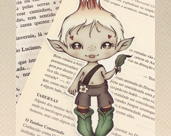 Elf pocket size bookmark