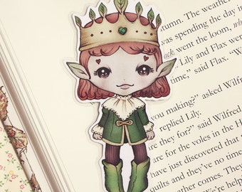 Forest King pocket bookmark - made to order