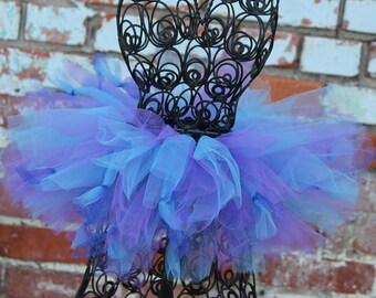 Blueberry Tutu-Purple & Blue Tutu