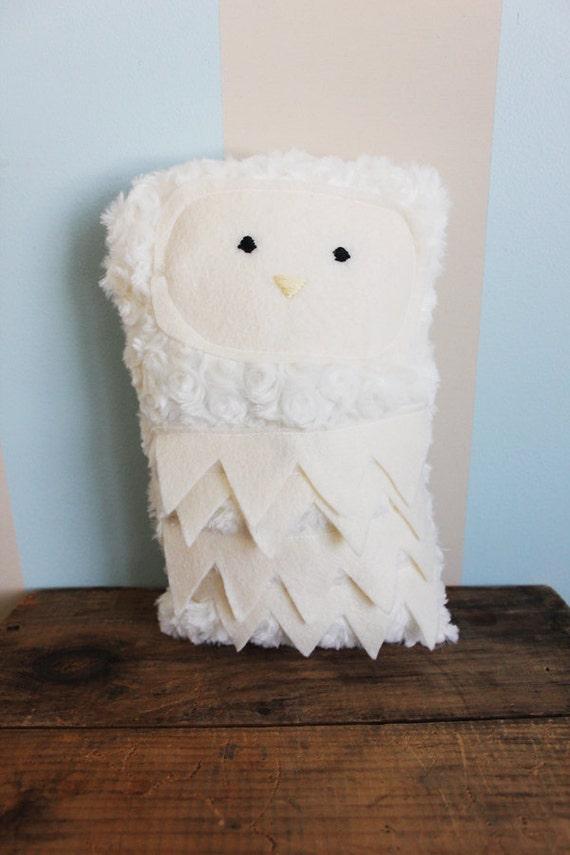 Plush Snow Owl - Safe For Babies