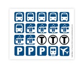 In Transit - USA (sticker sheet)