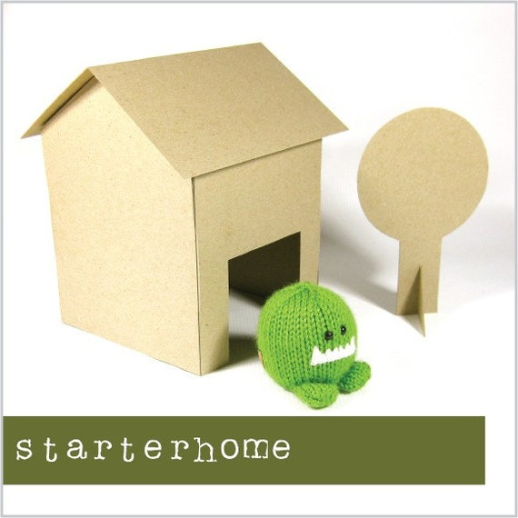 RESERVED for artsinwonderland - starterhome - no glue or scissors required