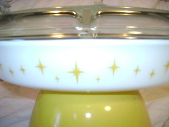 Atomic - Vintage Pyrex Divided Dish - constellation