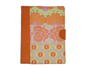 "ipad 2 ,ipad 1 case or ""Any Device"" ,with pocket, book style, Organizer Style Amy Butler Patchwork"