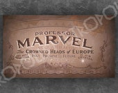 Wizard of Oz Professor Marvel Small Banner