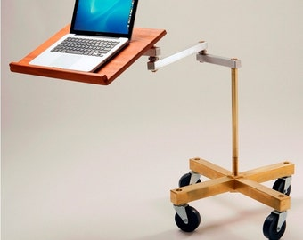 Cantilevered Laptop Desk