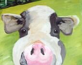 Commissioned Animal Painting, Farm Animal, 18x24
