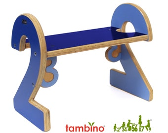 2-2 Stepstool in Blue Hues