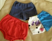 Cabbage Patch Clothes Handmade set of three pairs of shorts