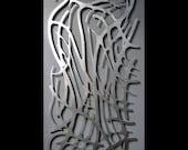Art Nouveau Web No. 8 in Brushed Aluminum 23 X 59