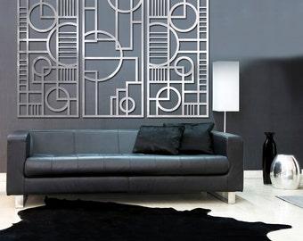 Deco Panel TRIO 23 X 46 in Brushed Aluminum