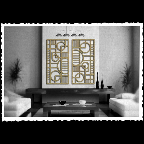 Deco Panel No. 2 PAIR each 23 X 46 available in 25 colors FREE SHIPPING