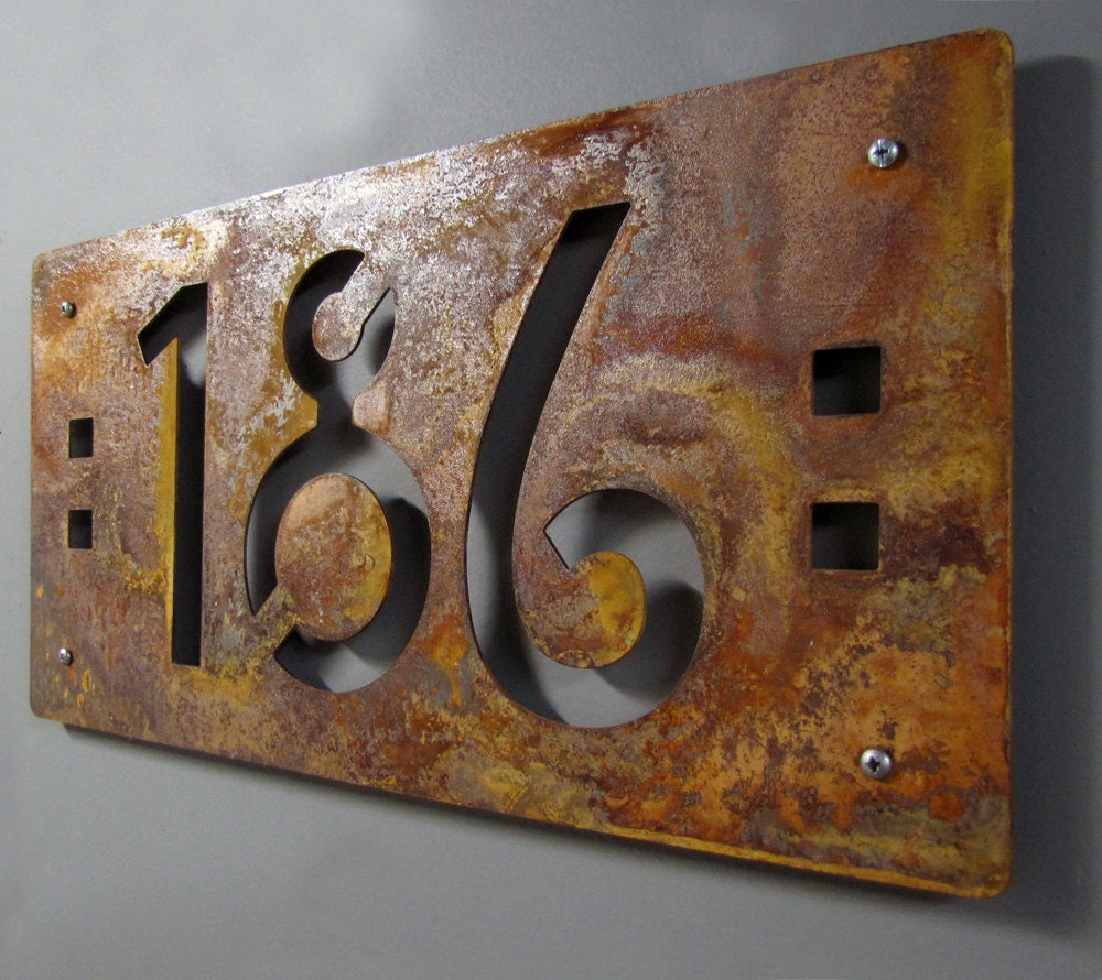 Decorative House Numbers House Numbers Etsy