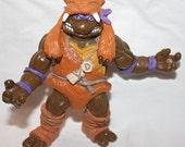 Action Figure TMNT Teenage Mutant Ninja Turtles Toy  Covered in furry looking costume