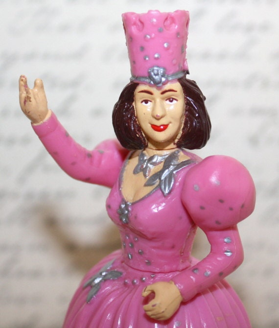 Vintage Wizard of Oz GLENDA the good WITCH Doll Figure