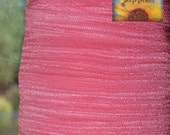 5/8 inch Fold Over Elastic Trim - 10 Yards French Pink