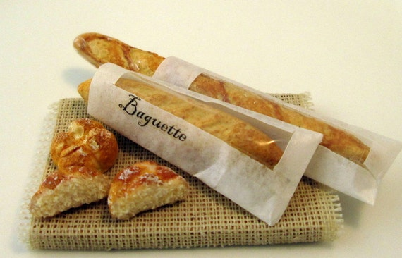 Baguettes  in the bags