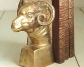 On Sale Brass Ram Mountain Goat Bookend