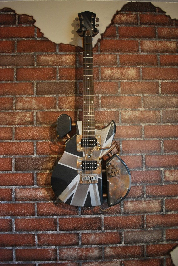 Tristan - Steampunk Guitar