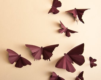 3D Butterfly Wall Decor 3D wall butterflies nursery decor