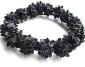 rubber necklace handmade with innertubes