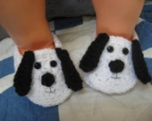 Puppy Dog Baby Booties