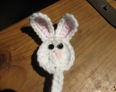 bunny pacifier holder
