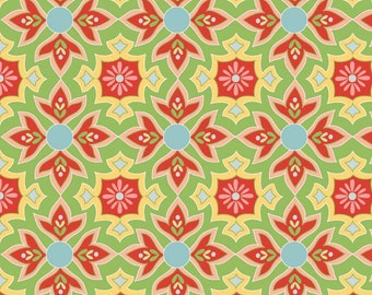 Delighted - Green Mosaic - C2661 - by The Quilted Fish for Riley Blake Design - 1/2 yard