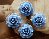 Limited discount Buy 1 Get 1 Free 20pcs Wholesale Beautiful Colorful Rose Flower Resin Cabochon  --20mm(CAB-BS -3)