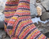 The No Wrap Basic Toe Up Sock Pattern