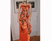 Dead Beauty Queen Pageant Gown Dress Skeleton goth Lolita VLV costume halloween