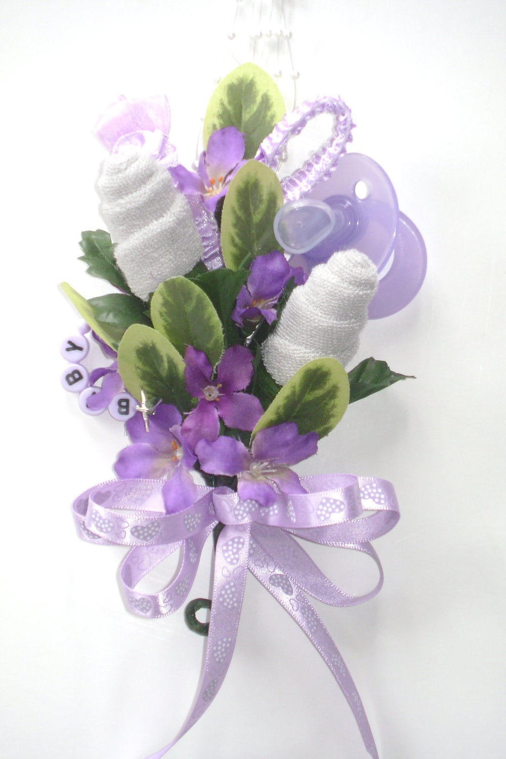 baby shower corsage baby washcloth corsage by nonisniche