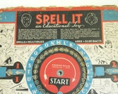 Vintage Spell it Educational Game