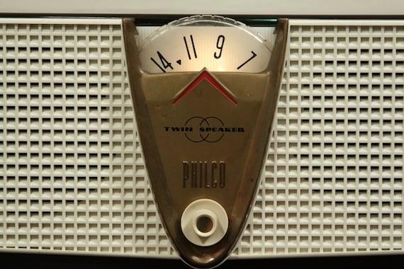 Working 1957 Philco Radio