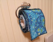 Custom Snapping Flannel Family Cloth to Fit Toilet Paper Roll