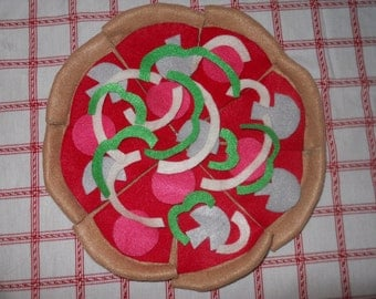 Felt Food Pizza