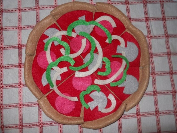 Felt Food Pizza
