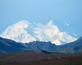 Mt. McKinley Without Clouds Print