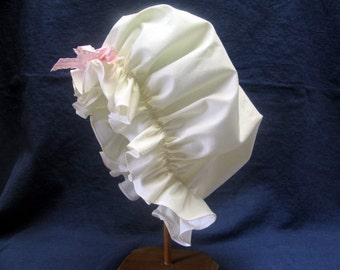 Girls mob cap, hat, colonial