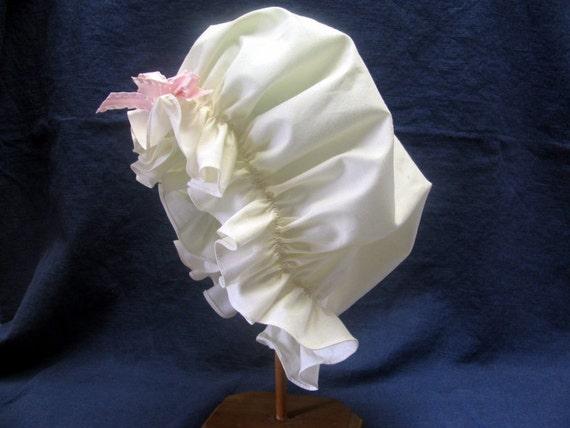 Girls Mob Cap Hat Colonial
