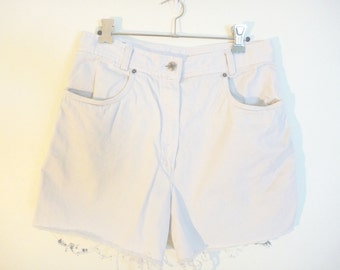 Vintage ECRU high waist Franco Francini shorts
