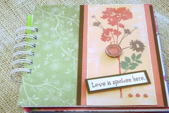 inspirational scripture mini book album