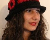 Christmas sale%20 coupon codes SIBELDESIGN1001 black,red, crochet,beanie,hat