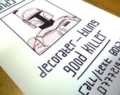 Boba Fett 'Handy Man' Digital Print
