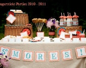 Printable DIY birthday party set, in ANY Sugarsticks Parties design