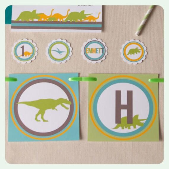 Dinosaur Birthday Party Banner