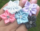 polka dot rings in sweet colors FREE SHIPPING