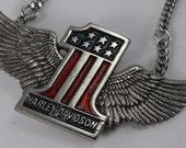 Vintage Harley Davidson Necklace